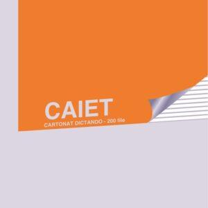 caiet cartonat dictando matematica