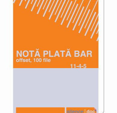 Nota de plata bar