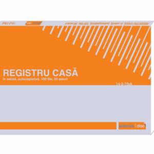 Registru de casa in valuta