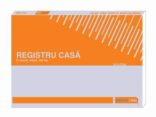 Registru de casa in valuta