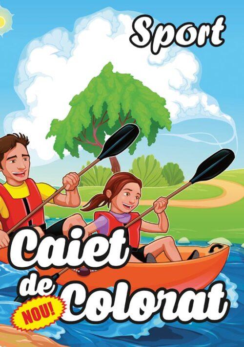 caiet colorat a4 sport