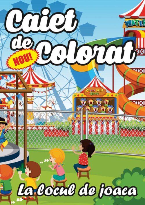 caiet colorat a4 la locul de joaca