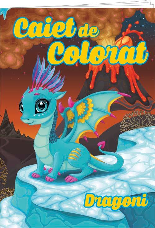 caiet colorat a5