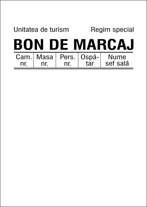 Interior Bon Marcaj