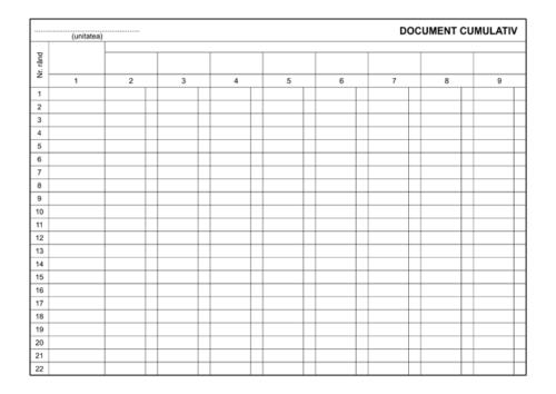 document cumulativ a4